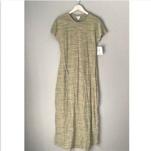 NWT Lularoe Maria short sleeve maxi dress